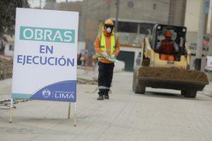 Obras en la avenida Campoy