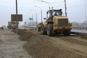 Trabajos ante cierre de tramos de la carretera central