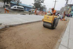 Avance de obra en avenida Campoy