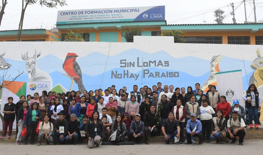 Mural de Lomas de Lima