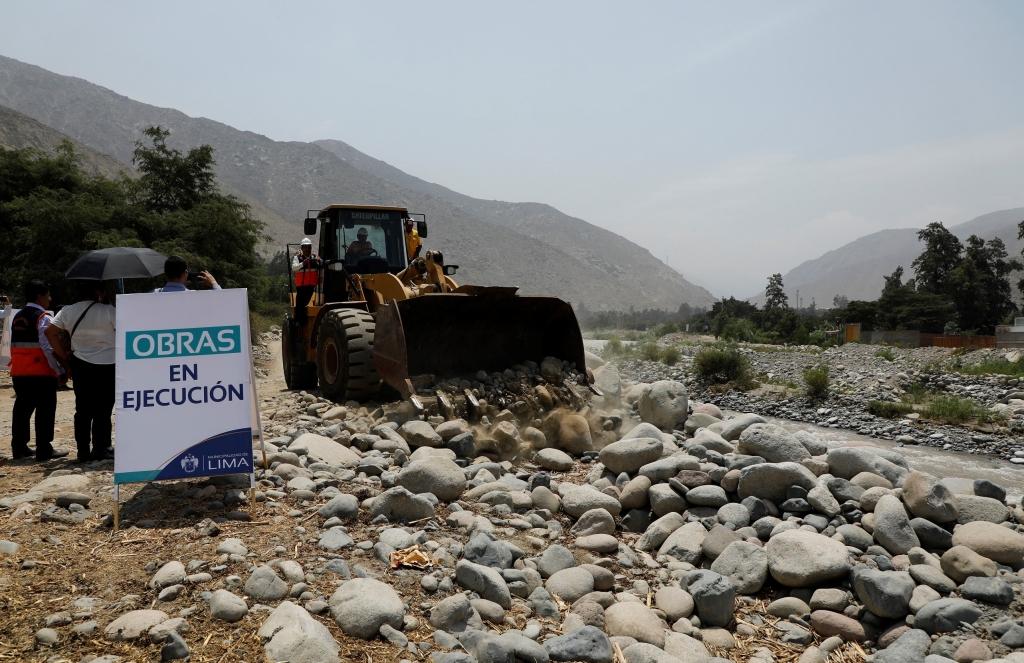 Descolmatación en ríos