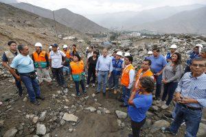 Visita de alcalde a Vallecito