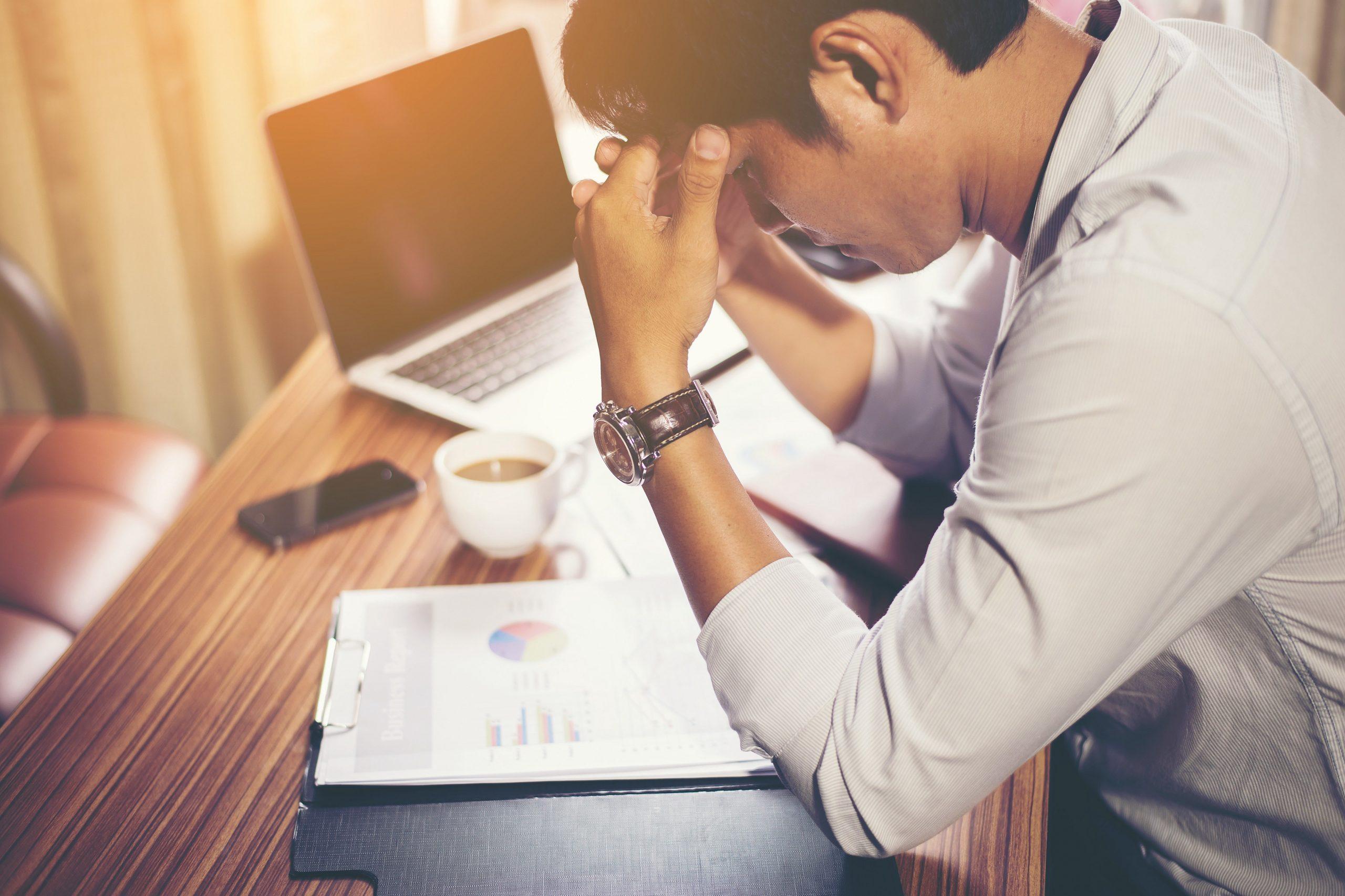 estrés por el trabajo remoto