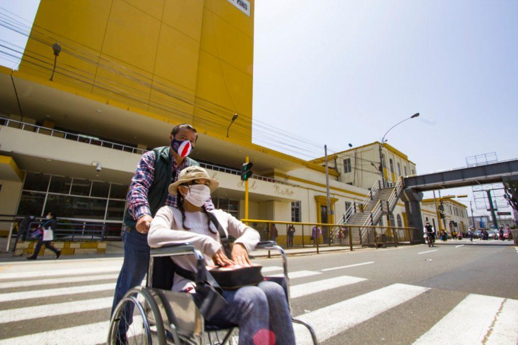 persona con discapacidad